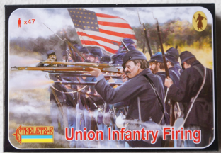 Strelets 1/72 ST0159 Union Infantry Firing (ACW)